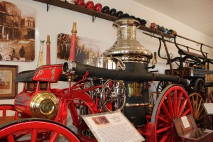 Old fire engine museum was very neat and free