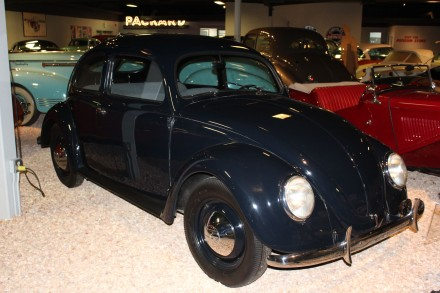 This 1947 volkswagen didn't look that much different than my first car