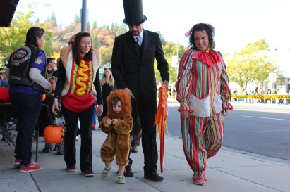 Best family costume was a circus family