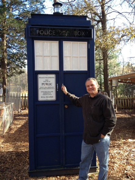 Visiting the Tardis, Rock Hill, SC