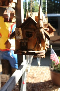 I was so tempted by this hummingbird feeder made locally but $33 was too pricey