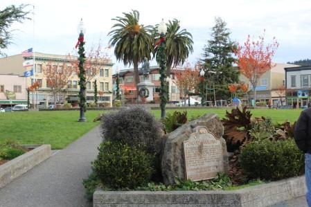 Arcata town square