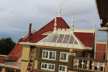 Lots pf pointed roofs