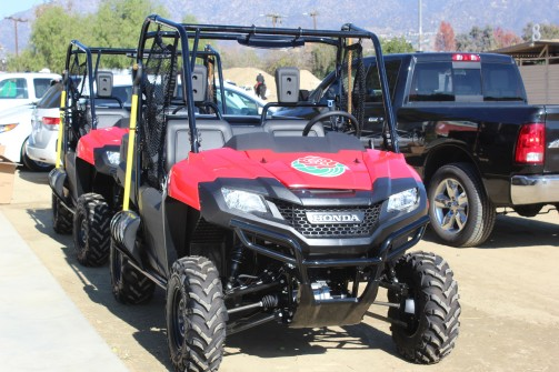 Hey Red check out this spanking new ATV for the parade. Lee thought you would like it