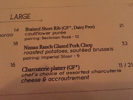 Charcutierie on the menu Cori!!