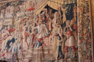 Medieval tapestries everywhere