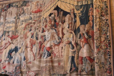Medieval tapestries everywhere