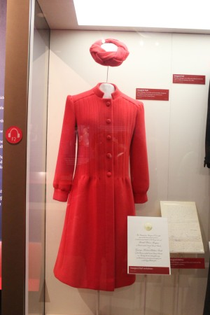 The outfit First Lady Nancy wore to the inauguration