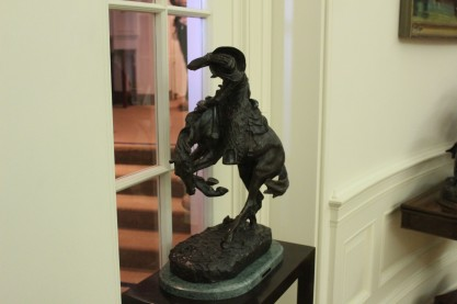He was fond of western art
