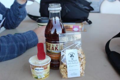 The perfect snack. Caffeine, Sugar, and salt