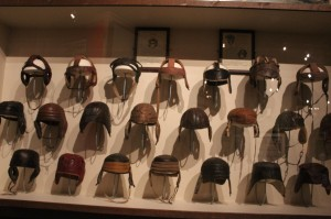 And a great collection of leather helmets