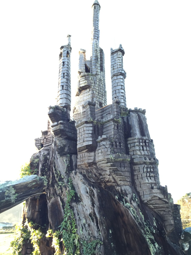 And my very favorite which was a huge castle done by James