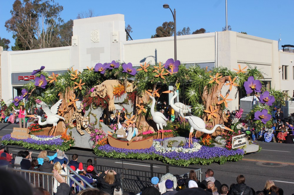 The everglades float was ok but not as good as the Dole one