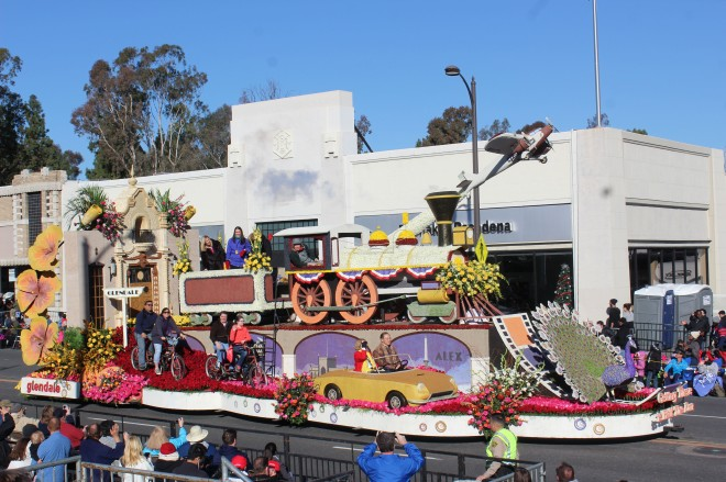 The City of Glendale won the Governors Trophy for best depiction of California