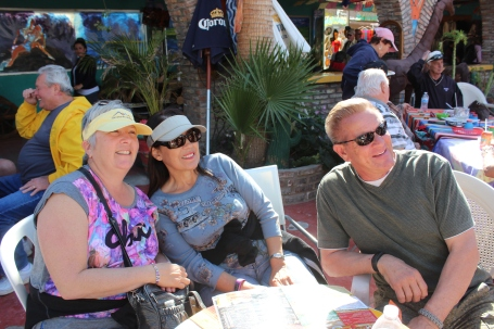 Ellen, Brenda, and Roger