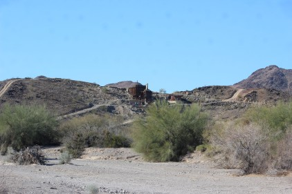 And an old copper mine