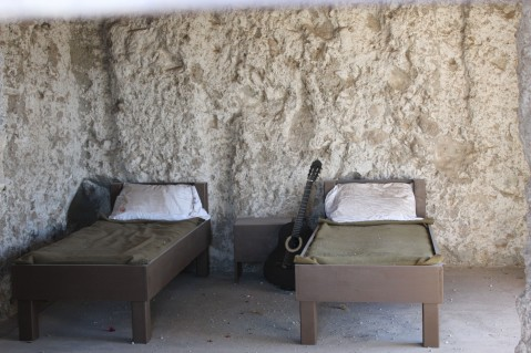 The women's bunks were like the Hilton in comparison to the mens.