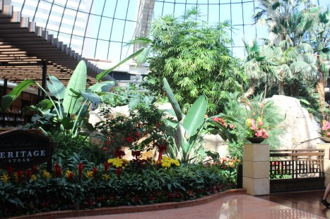 The lobby of the mirage