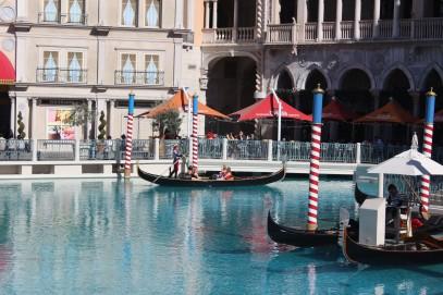 Outside gondola