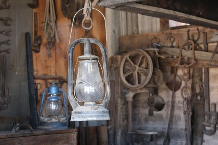 This lamp was in the movie tombstone
