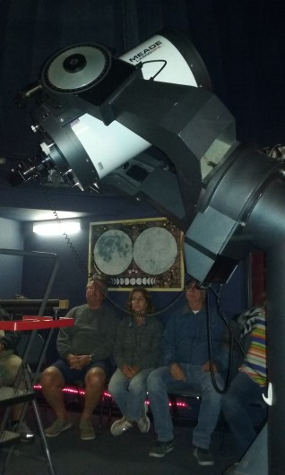 Pretty big telescope inside for the room's size