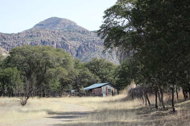 The property started as a guest ranch and eventually was turned into piblic land