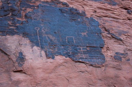 The remaining petroglyphs were very cool and Lee was wonderful at spotting them