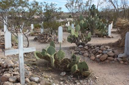 The graveyard was beautifully kept