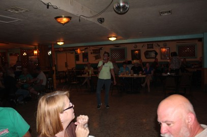 Me getting my karaoke on