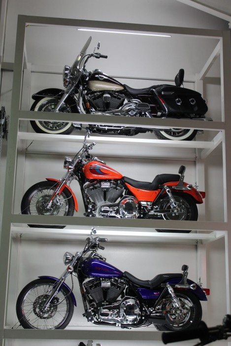 Part of the nice motorcycle collection