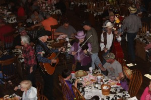 I loved the table side music. They took requests