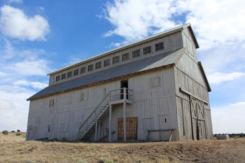 This four story barn was in The Astronaut Farmer