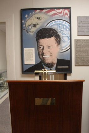 My favotie thing in the museum was this podium where JFK spoke