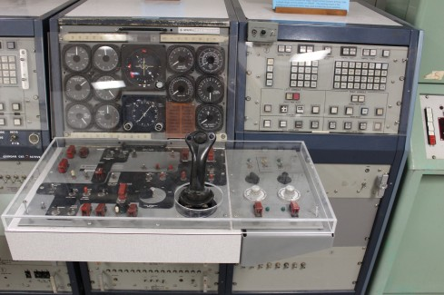 This was what a drone controller looked liked. Now Lee uses a smart phone. Crazy leaps in technology