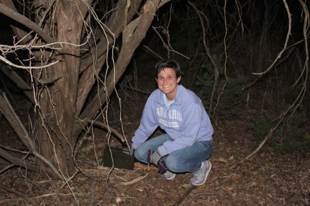 Geocaching in the State Park