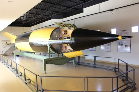 This V-2 Missile was the first of it's kind used by Nazi Germany to bomb London. They were huge