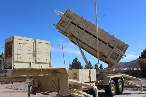 I recognized the Patriot missile of course