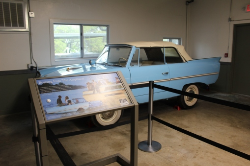 This car was one of those aqua cars that also worked in water.
