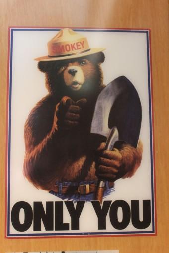 Lee's favorite childhood poster