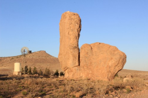 "The ""toilet rock"""