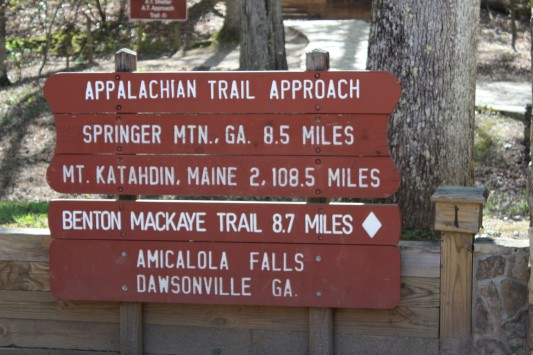 The park is also the starting place for the Appalachian Approach trail