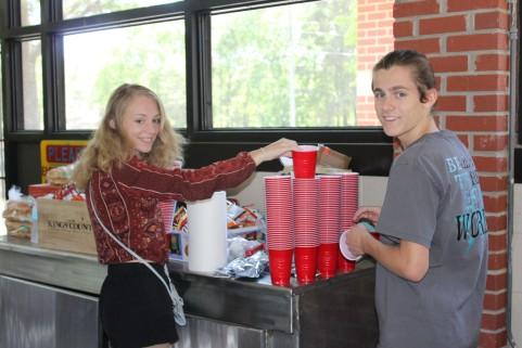 Bryce and his girlfriend Skylar who were super helpful