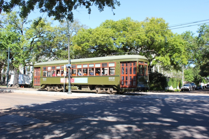 The trolley was cool