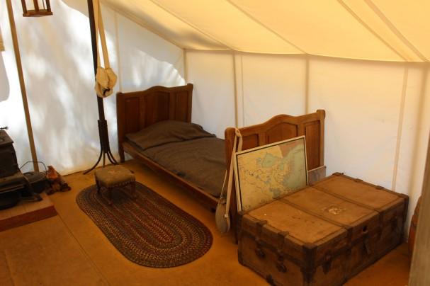 A general's tent