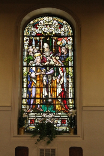 The stained glass was some of the best I have ever seen
