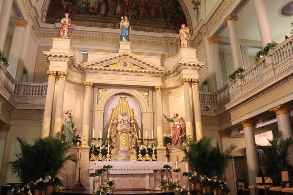 The St. Louis Cathedral is the oldest continual use church in the US