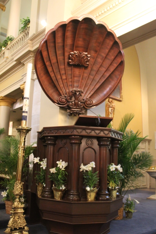 Loved the pulpit