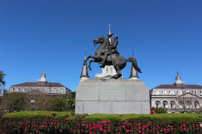Jackson Square statue