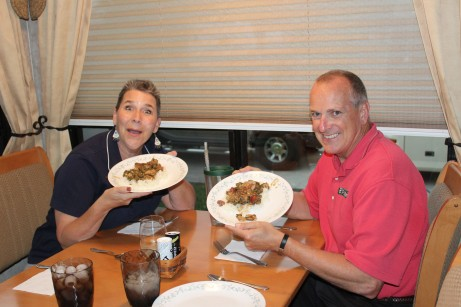 They loved the gumbo!!