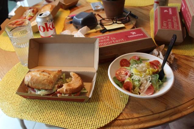 My yummy lunch!!